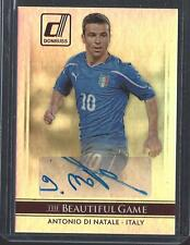 2015 Panini Donruss Soccer Auto Autograph Antonio Di Natale Italy Udinese RC Sig