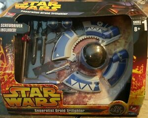 AMT-Star-Wars-Droid-Trifighter-Die-cast-model-kit-NEW