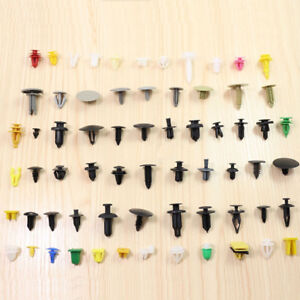 200x-Plastic-Car-Door-Trim-Clip-Bumper-Rivet-Screws-Panel-Push-Pin-Fastener-Kit