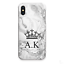 PERSONALISED-INITIALS-PHONE-CASE-MARBLE-HARD-COVER-FOR-HUAWEI-MATE-20-HONOR-7A miniatuur 9