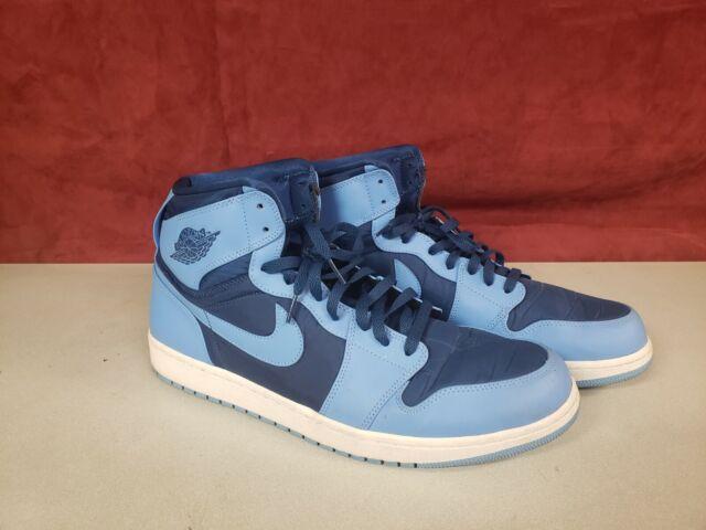 Nike Air Jordan 1 High Top University Blue White Mens Shoes Size 16