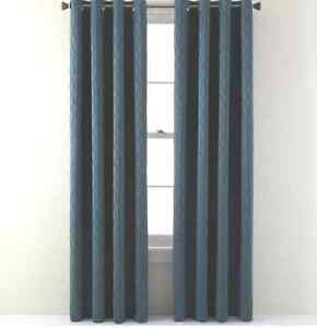 Image Is Loading Studio Luna Grommet Top Lined Blackout Curtain Panel