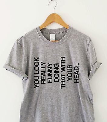 Logico Si Guarda Veramente Divertente Farlo Con La Testa Dell' Umorismo Maglietta Divertente Maglietta Regalo-mostra Il Titolo Originale