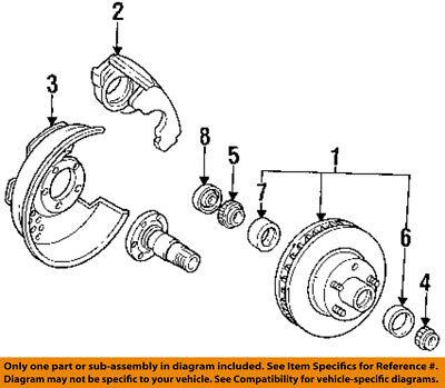 Online Automotive OLAWBK727 Rear Wheel Bearing