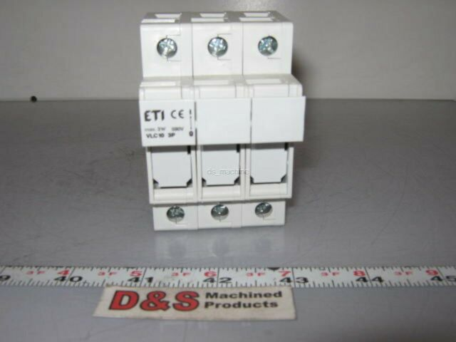 ETI VLC10 1 Pole Fuse Holder 30 Amp 600 V VLC 10 for sale online