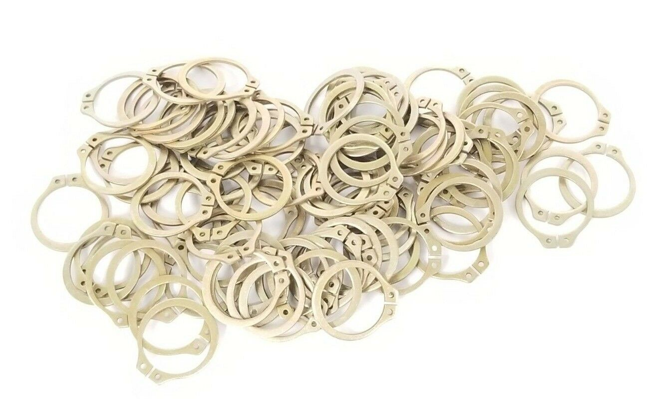 Stainless Steel Snap Rings Retaining Rings SH-68SS 11//16 Qty 100