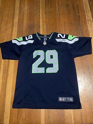 Nike Seattle Seahawks Jersey Earl Thomas Youth Boys Large | eBay