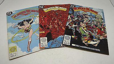 DC WONDER WOMAN MUJER MARAVILLA COMIC EDICIONES ZINCO 1988 # 17 IN SPANISH