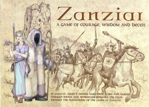 Zanziar - A game of Courage, Wisdom and Deceit Board Game
