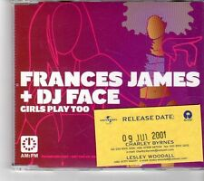 (FP52) Frances James & DJ Face, Girls Play Too - 2001 DJ CD