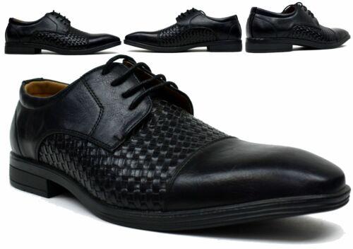 Hommes Nouveau Smart Fashion lacets Formelles Chaussures UK Taille 6-11