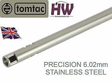 AIRSOFT PRECISION INNER BARREL 6.02 STAINLESS STEEL TIGHT BORE 469mm TOMTAC 6.03