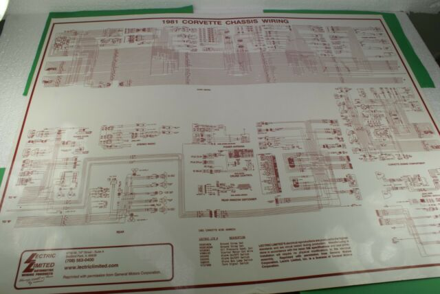 1981 Corvette Chassis Wiring Diagram Laminated Lectric