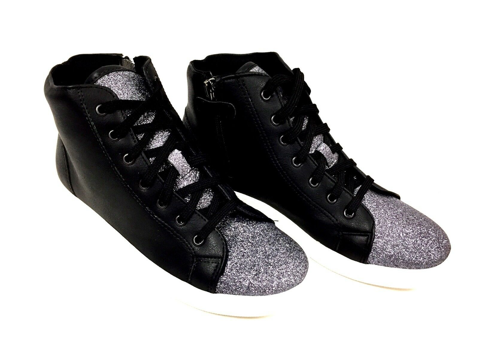 shoes femme black avec paillettes Guess size 38 FR  7.5 US