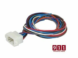 Details about Galls Street Thunder Siren Control / Power Harness Plug on