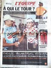 L'Equipe Journal 23/7/2002; Jalabert et Virenque/ Levet/ Historique Schumi
