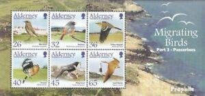 United Kingdom-alderney Block15 Fine Used Sperlingsv Evident Effect Cancelled 2004 Migratory