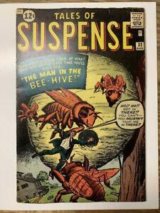 Tales-of-Suspense-32-Marvel-Comic-Book-Tough-Dr-Strange-Prototype-VG-FN