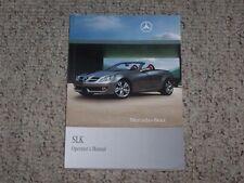 2010 Mercedes Benz SLK SLK300 SLK350 SLK55 AMG Owner Operator User Guide Manual