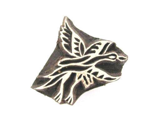 Indischer Holzstempel Vogel Textilstempel,Hennastempel,Tattoostempel Nr 1459