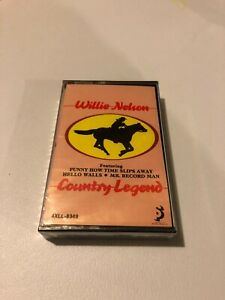 1983-Willie-Nelson-Country-Legend-Liberty-Records-Cassette-Tape-Sealed-FREE-SHIP
