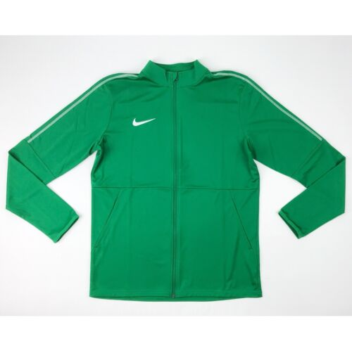 New Nike Park 18 Knit Track Full Zip Jacket Men/'s Large Green Soccer AA2059