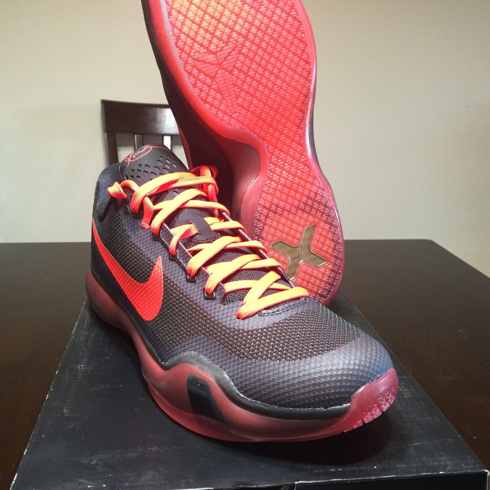Nike Air KOBE Low X 10 Black what the Prelude 8 - 14 mamba moment 9 High 8 7 6 5