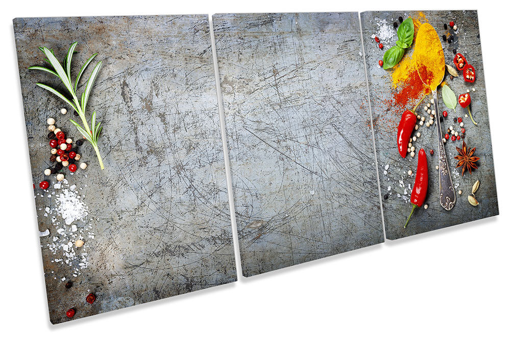Erbe spezie cucina peperoncino peperoncino peperoncino ART. a Muro Immagine Stampa degli acuti 17cfc4