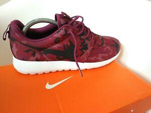 Agotamiento Intolerable Viva  Zapatillas Nike Para Hombre Talla 8.5 Rojo Borgoña Camuflaje Militar   eBay