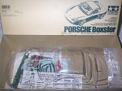 Tamiya  PORSCHE Boxster 1/10 RC Body set == NIB ==