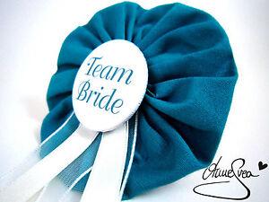 Orden-Team-Bride-JGA-Herz-Deko-Anstecker-Button-Junggesellinnenabschied-tuerkis