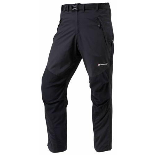 Medium 32in Montane Mens Terra Pants Short Leg Black