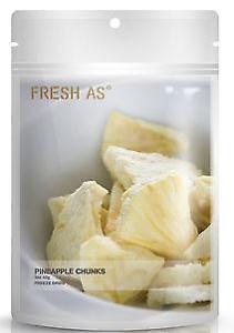 Pineapple Chunks 40g Fresh As Freeze Dried Fruit