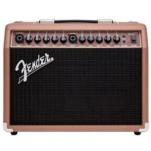 fender acoustasonic 40 2x6 5 40w acoustic guitar combo amp 885978760329 ebay. Black Bedroom Furniture Sets. Home Design Ideas