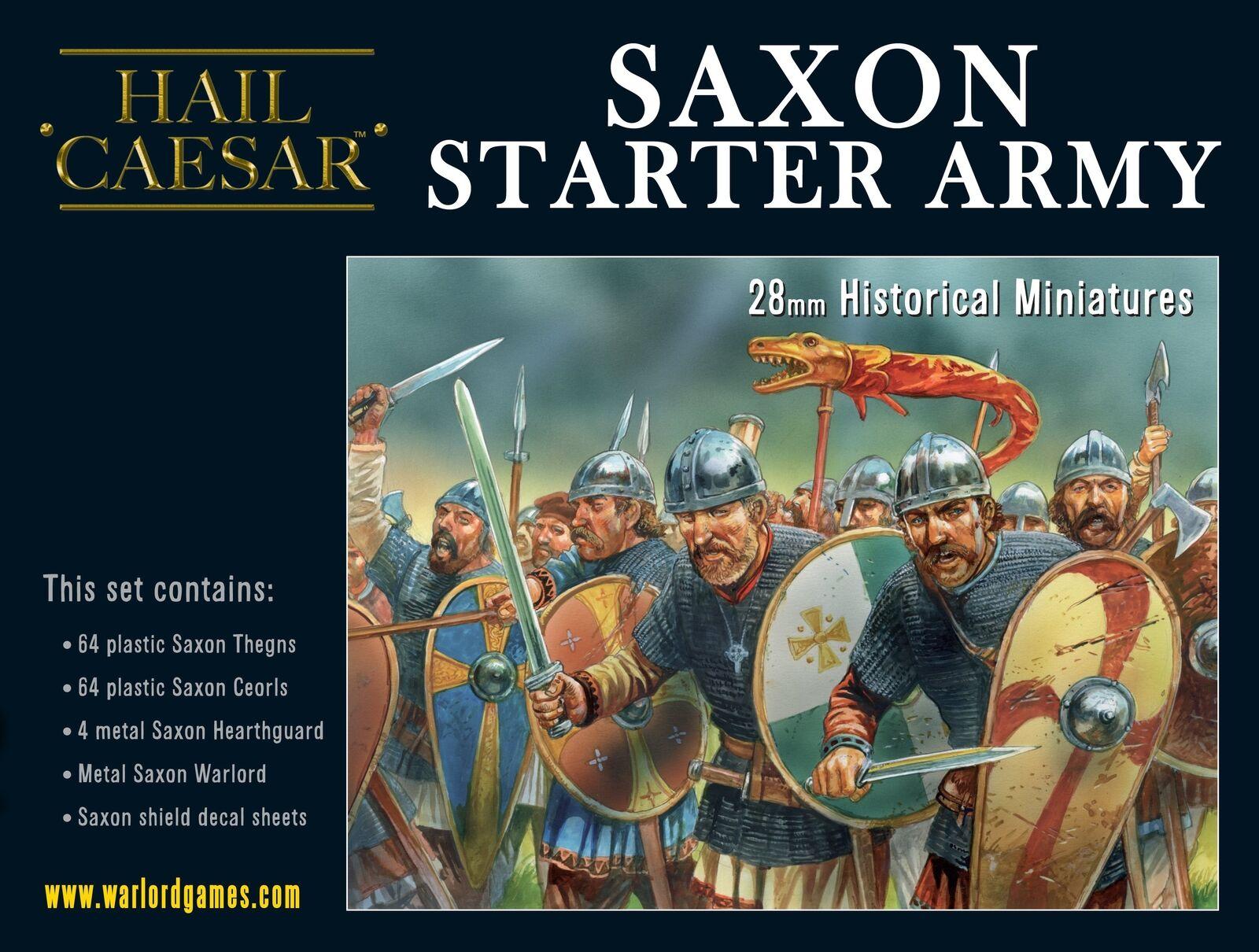 Hell Caesar, saxisk stjärnarmé 28mm, plastisk medeltid.