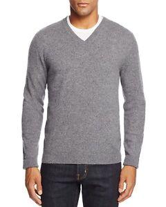 cuello de en Msrp 198 Xl en Tienda Cashmere con Bloomingdale's hombres suéter V 190089119585 talla HxqEwgd0E