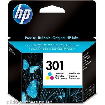 Genuine Original HP 301 Colour CH562EE Ink Cartridge for HP Deskjet 2540 VAT INC