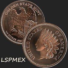 American Wildlife Series Bald Eagle 1 oz Copper USA Made BU Collectors Round