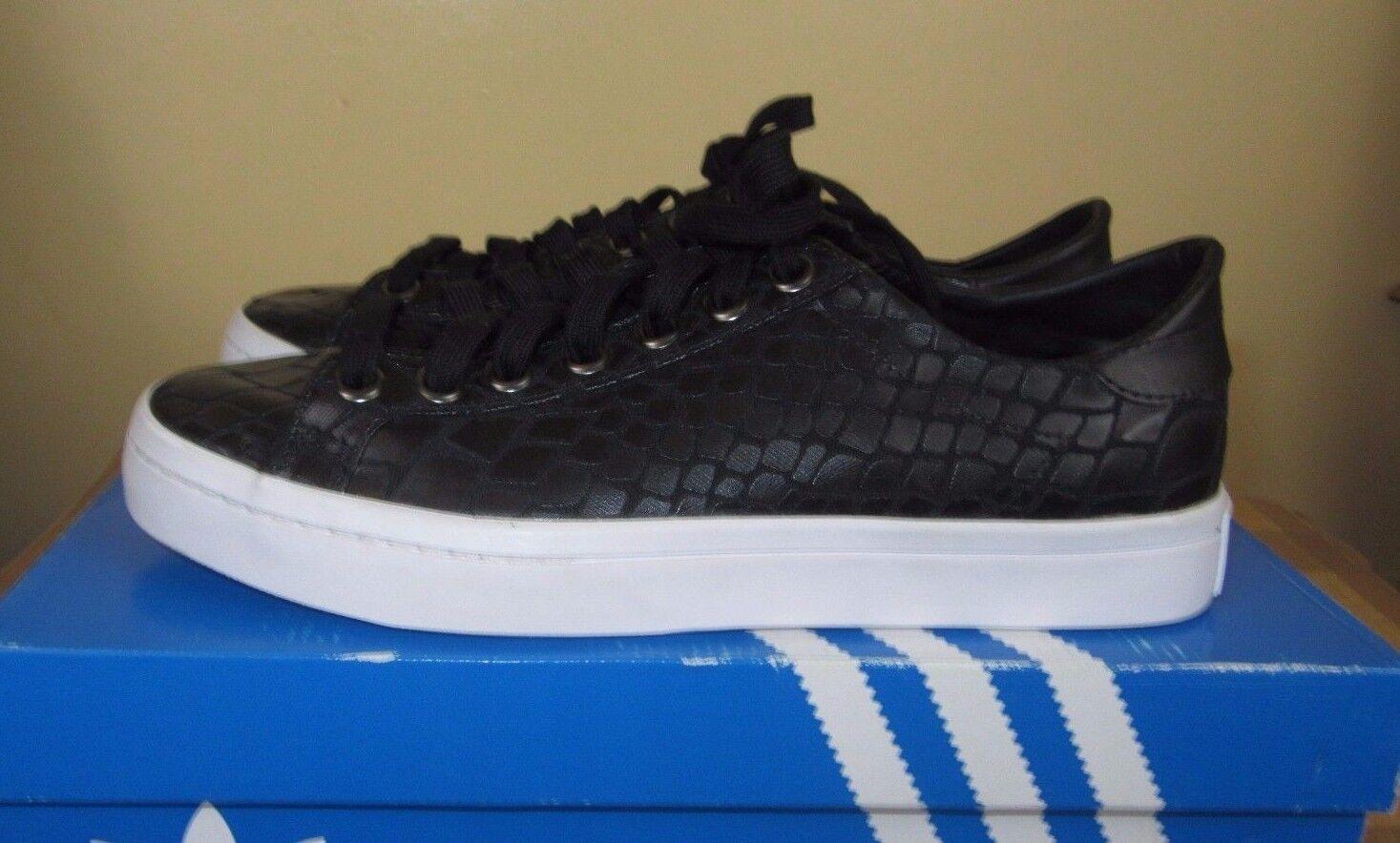 Adidas Originals Court Vantage chaussures in noir