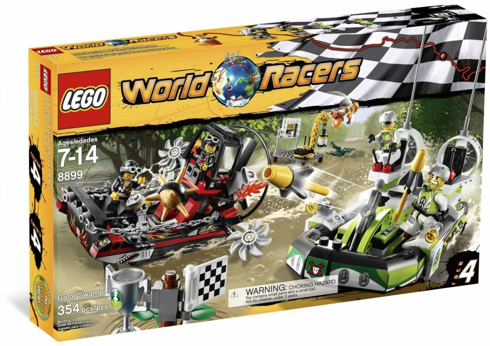 LEGO ®  World Racers 8899 danger en crocodile-Marais Nouveau neuf dans sa boîte _ Gator Swamp nouveau En parfait état, dans sa boîte scellée  remise