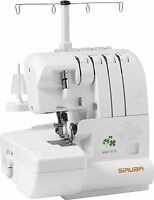 Siruba Hso-747d Overlock Sewing Machine For Professional Finish With 2 Needle...