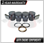 Piston /& Piston Rings Fits Ford Expedition Mustang Explorer 4.6L 5.4L SIZE 040