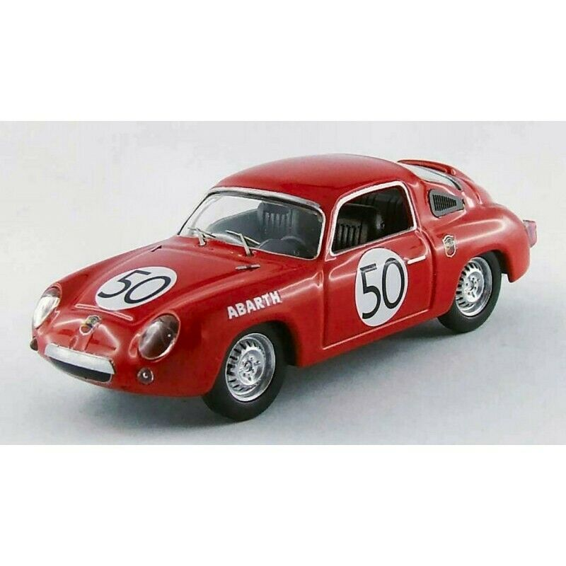 BEST BT9510 FIAT ABARTH 950S BIALBERO 32th LM 1960 CONDRILLIER-GUICHET 1 43 comp