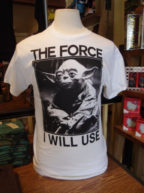Star Wars Yoda The Force I will Use Men's T-shirt