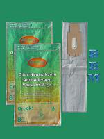 16 Oreck Hepa Odor Neutralizing Type Cc Ccpk8of Upright Xl Vacuum Cleaner Bags