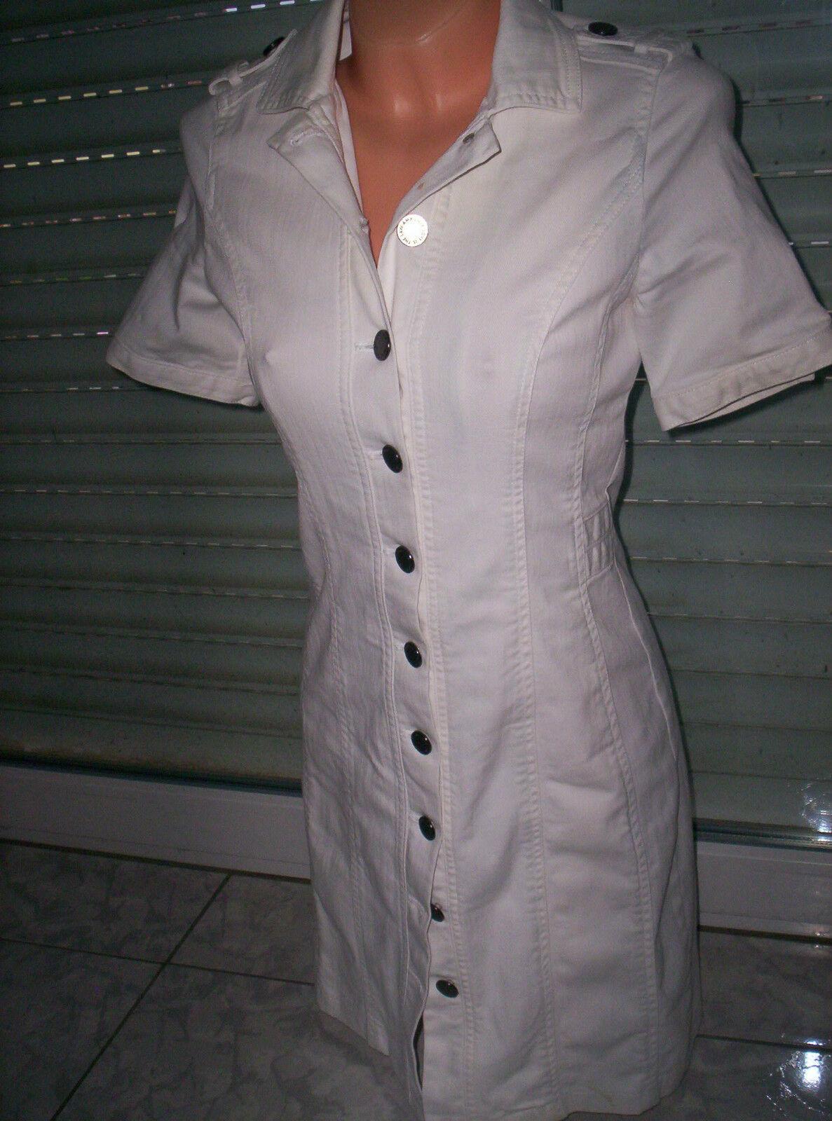 AMBIENTE  Jeans-Kleid Blausen-Kleid, weiß, neuw. Gr.36