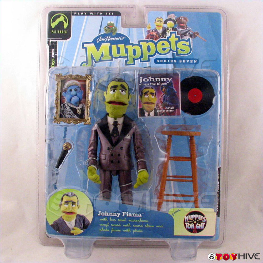Muppets Tonight by by by Palisades Johnny Fiama Burgundy Purple Casual Suit Series 7 2f4ee7