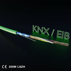DTECH-KNX-EIB-Cable-LSZH-Dca-Quad-2X2X0-8mm-Control-Cable-200M