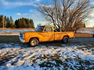 1980 Dodge Other Pickups