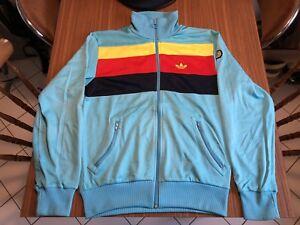 Adidas-Originals-Track-Top-Carlo-Gruber-RARE-Sz-M-Great-Vintage-Condition